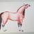"""Original Horse Watercolor Painting/""""Pretty Pony""""/9x12/Unframed"""