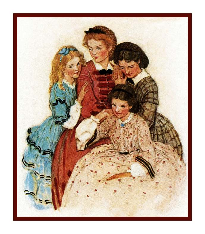 Digital DOWNLOAD Jessie Willcox Smith's Little Women Sisters Orenco Originals