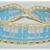 Plaid Headband with Yellow Crochet Trim and Ties