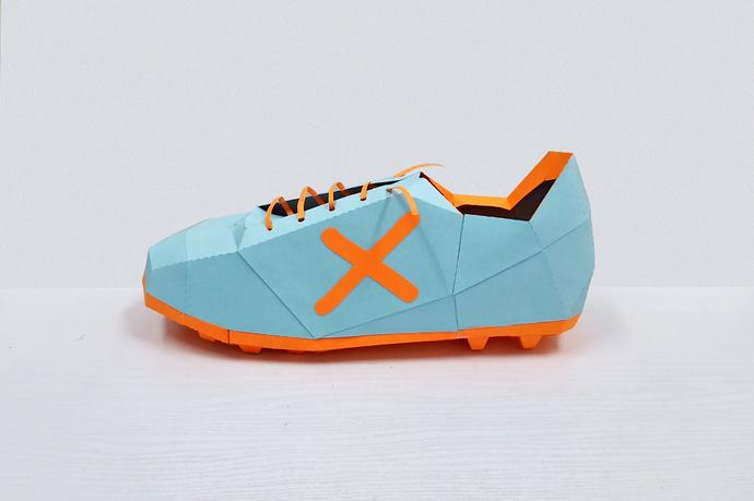 DIY Papercraft Soccer shoes,Cleats shoe,Football shoes,3d shoe,Paper shoe,3d