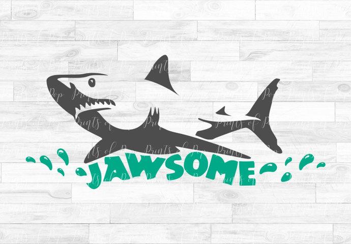 Shark svg, Jaws svg, Shark clip art, Awesome Shark, Shark Week, svg, dxf, png,