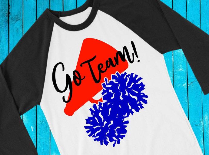 Cheer svg, Cheer clip art, Cheerleader svg, Cheerleader clip art, Pom Pom svg,