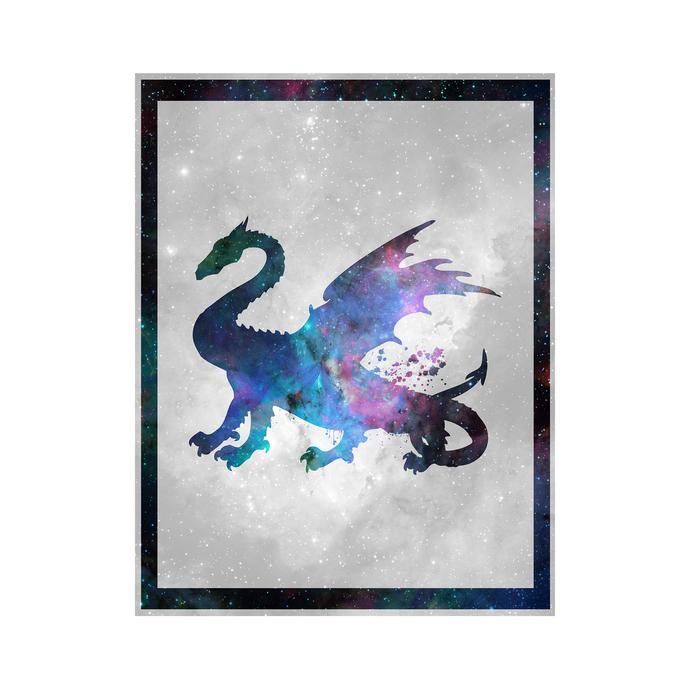 "Dragon - Spirit Animal - Art Print - 8.5"" x 11"" - Custom Sizes Available"