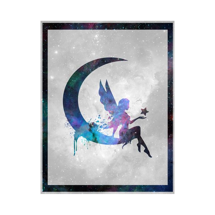 "Fairy - Spirit Animal - Art Print - 8.5"" x 11"" - Custom Sizes Available"