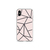 Dusty Rose Geo Clear iPhone Case