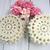 Cotton Crochet Doilies - 10pcs 3 inch Beige, Cream