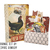 Backyard Chickens Journal Kit: Comes with an 80 page premade journal and