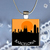 Pendant Necklace City Skylines Barcelona