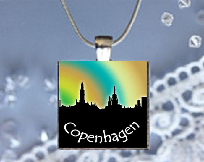 Pendant Necklace City Skylines Coppenhagen