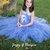 Periwinkle Blue Tutu Dress - Flower Girl Dress - Flower Girl - Tutu Dress