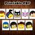 Lego Movie Photo Booth Props - INSTANT DOWNLOAD - Lego Birthday Party Masks -