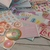 """Pink Pocket "" Pocket Travelers Notebook w/inserts"