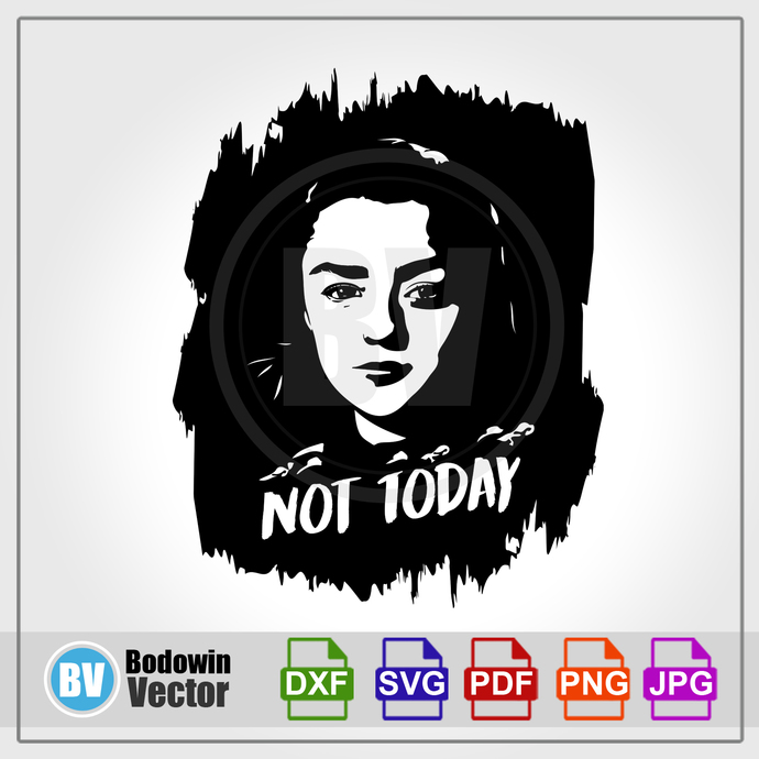 Game of Thrones SVG - Arya Stark / Instant Download / Digital Clipart / Cutting