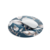 "Magnolia Print 7.5"" Round Mousepad"