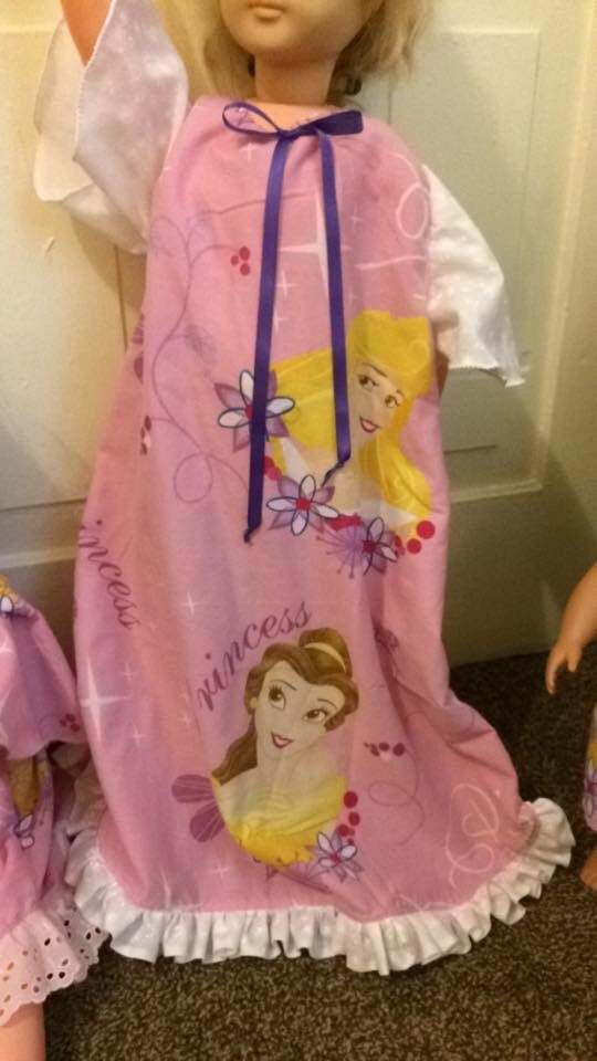 Princess Print Nightshirt Set