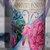 Altered Wine Bottle, Shabby Chic, Decorated Purple, Vintage Glassware, Home and