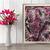 """Acrylic Fluid Painting Original Artwork 12""""x 16"""" on Canvas Framed Abstract Art"""