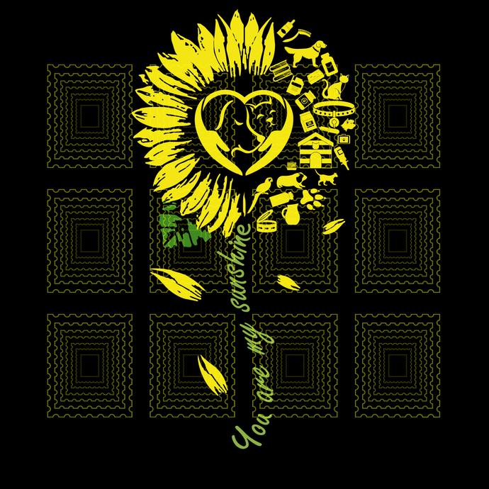 Veterinary sunshine, You Are My Sunshine Sunflower Veterinary svg, Vet sunshine,
