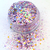 Mauve After Party - Metallic Chunky Loose Glitter Mix For Cosmetic and Craft Use