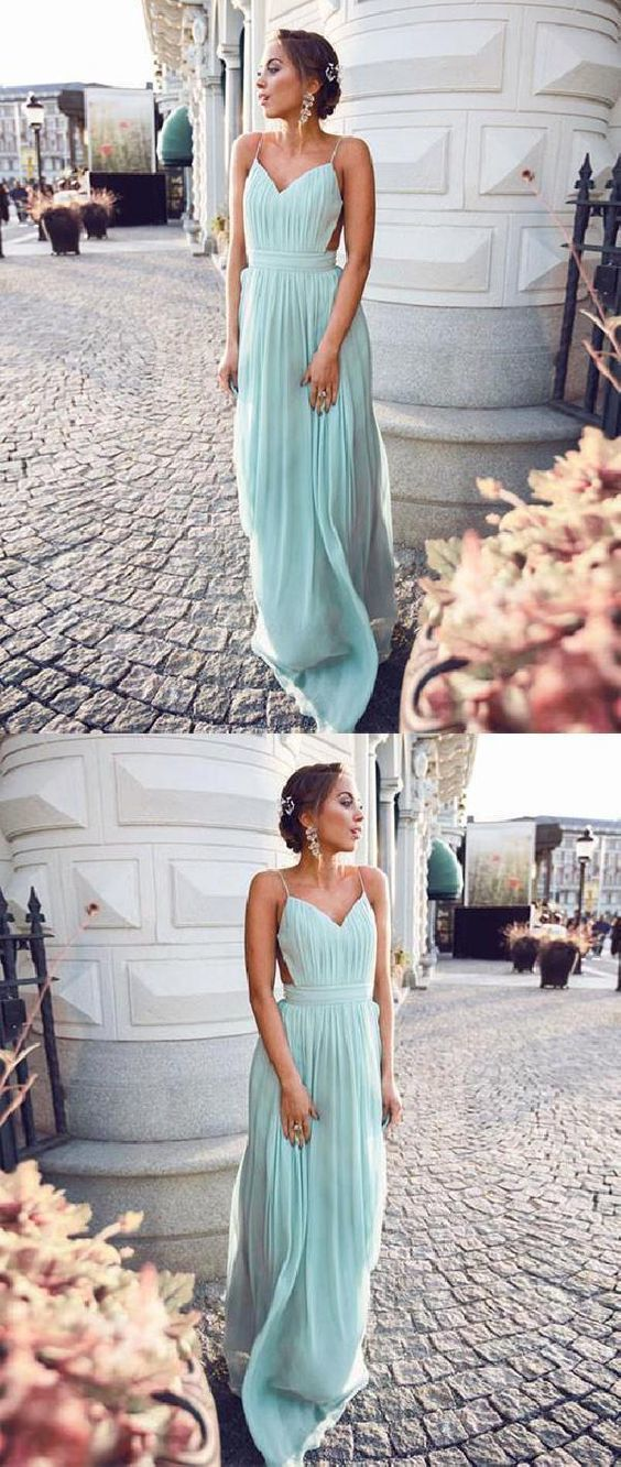 Simple Beautiful Glorious Backless Prom Dress