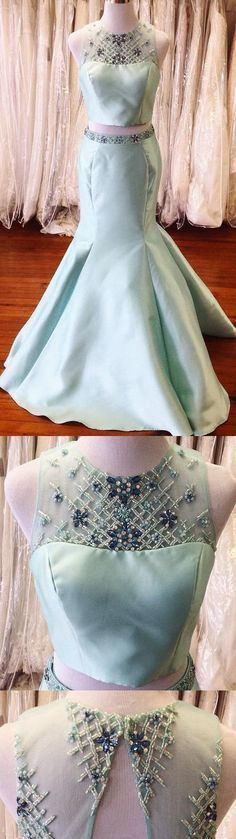 Custom Made Charming Mermaid Prom Dresses