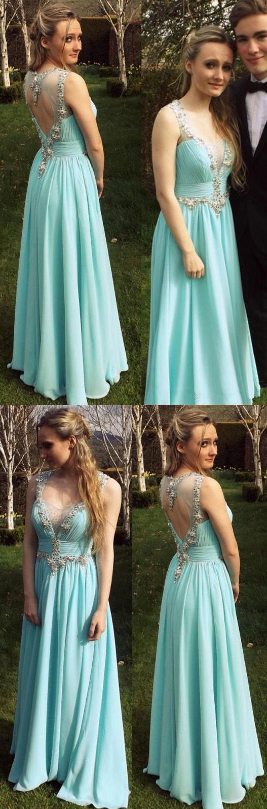 Pretty Charming Chiffon Prom Dresses,Evening dress