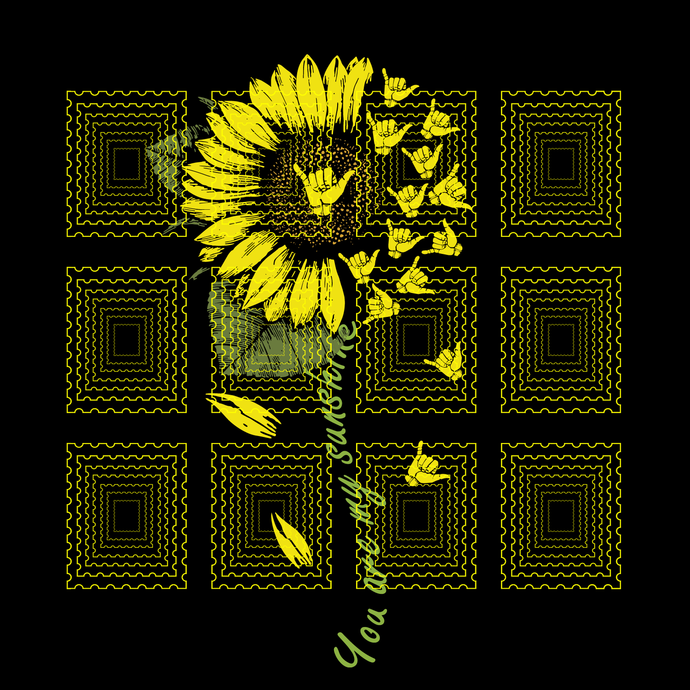 Sunflower sign language I love you, You Are My Sunshine Sunflower sign language