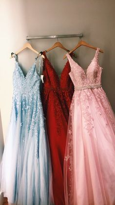 Charming prom dress tulle evening dress long a-line party dress