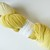 Natural / Eco Dip Dyed with Goldenrod – 100% Organic Falkland Merino Wool – 105