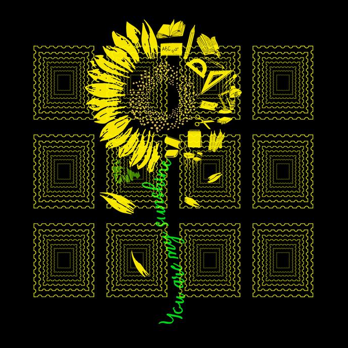 You Are My Sunshine Sunflower Teacher, teacher svg, teacher shirt, svg, png,