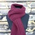39 COLORS Scarf Handmade Knitted Gift For Her Gift For Men Warm Scarf Endless