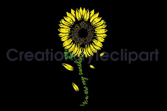sunflower svg for woman, sunflower shirt, sunflower svg, sunshine sunflower svg,