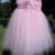 Light Pink Flower Girl Tutu Dress - Flower Girl Dress - Flower Girl - Tutu Dress