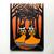 The Pumpkin Carvers Original Halloween Cat Folk Art Painting