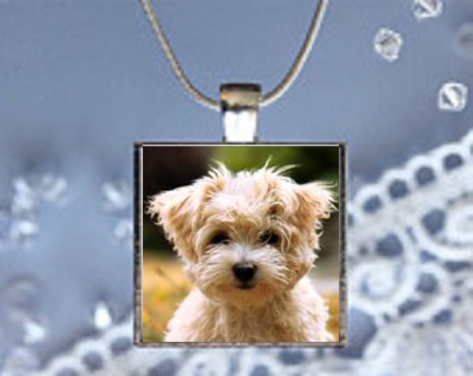 Pendant Necklace Dogs, Schnauzer