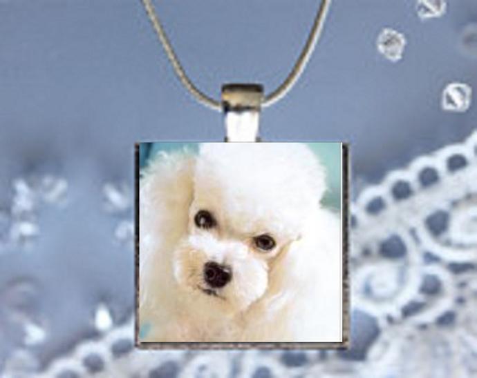 Pendant Necklace Dog, Poodle