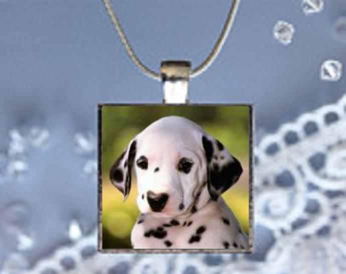 Pendant Necklace Dog, Dalmation