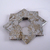 Christmas Ornaments Origami Wreath Silver Gold Recycled Wallpaper