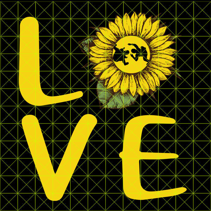 You Are My Sunshine Sunflower love wrestling svg, png, dxf, vector for cricut