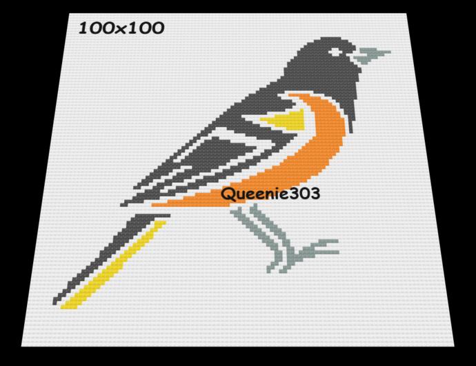 Oriole Bird 100x100