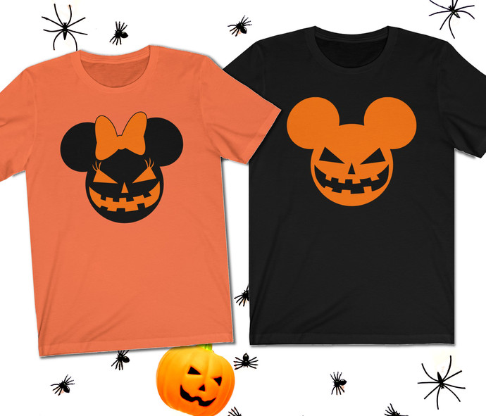Disney Halloween shirts - Disney couple shirts - Disney Halloween - Mr and Mrs