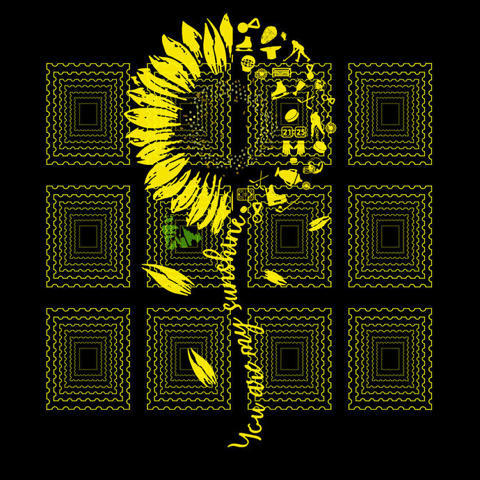 You Are My Sunshine Sunflower Hockey svg, Sunflower Hockey svg, Hockey shirt