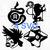 DESTINY 2 Hunter Titan Warlock Class Logo Emblem PS4 XBox PC Game Decal Car