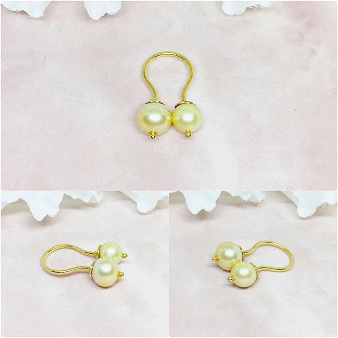 Pearl 14K Gold Ring