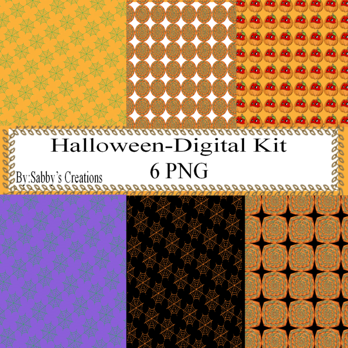 Halloween 140d Digital Kit-Jewelry Tag-Clipart-Gift Tag-Holiday-Digital
