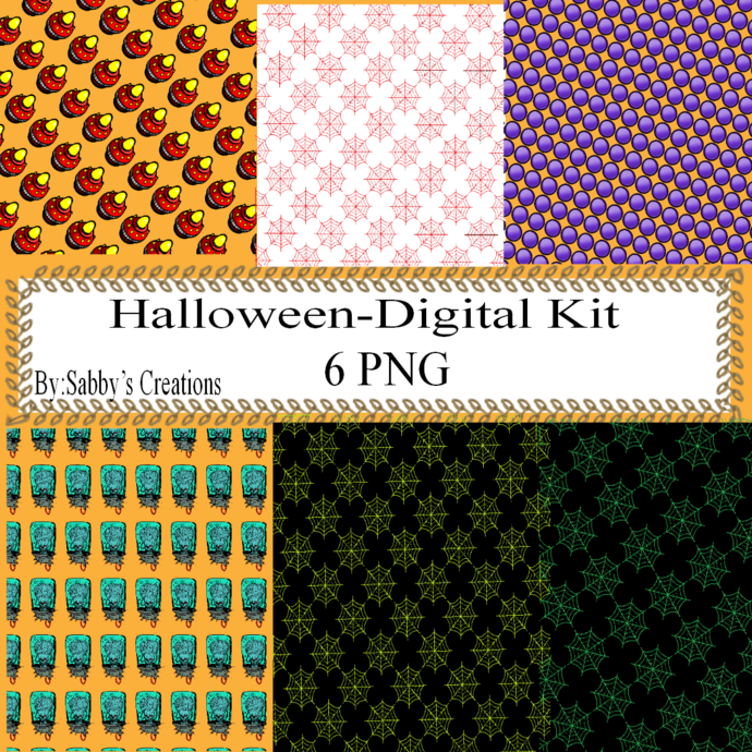 Halloween 139c Digital Kit-Jewelry Tag-Clipart-Gift Tag-Holiday-Digital