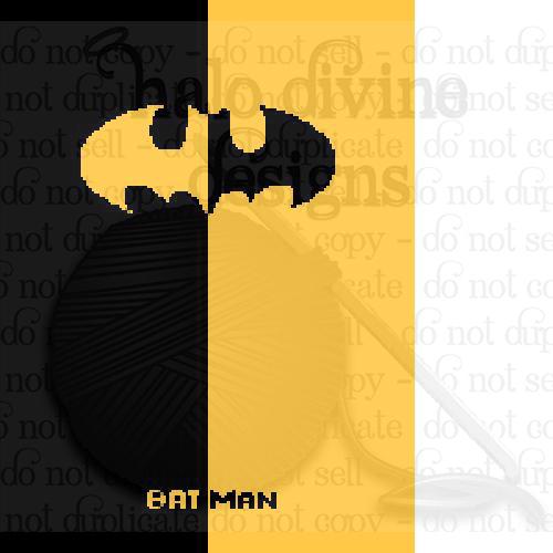 Crochet Batman Graph for Graphgan