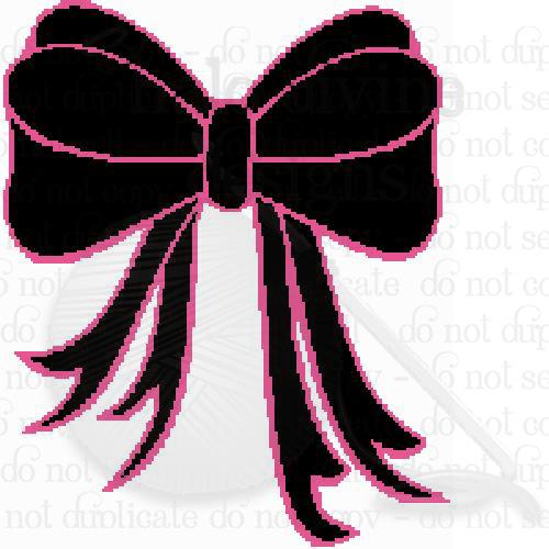 Crochet Graph Black and Pink Box Graphgan