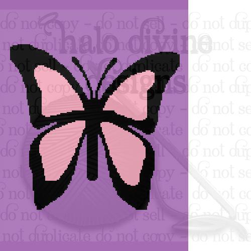 Crochet Butterfly Graph for Graphgan