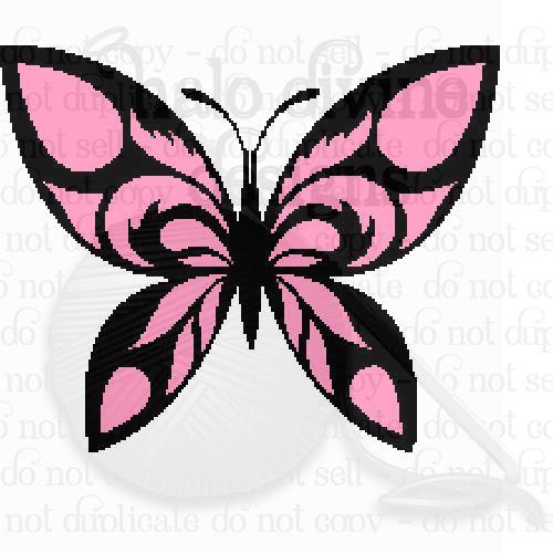 Crochet Butterfly Graph